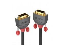 2m DVI-D Dual Link Cable, Anthra Line