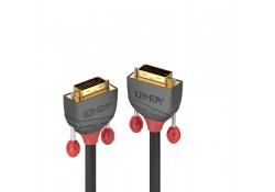 20m DVI-D Dual Link SLD Cable, Anthra Line