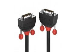 5m Dual Link DVI-D Cable, Black Line