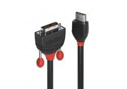 5m HDMI to DVI-D Cable, Black Line