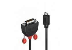 0.5m Mini HDMI to DVI-D Cable, Black Line