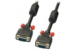 0.25m Premium VGA Monitor Cable, Black