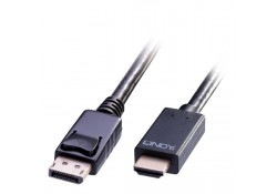 DisplayPort to HDMI 4K Adapter Cable, Passive 0.5m