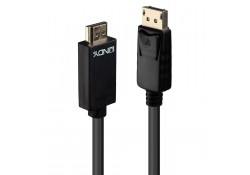 0.5m DisplayPort to HDMI 10.2G Cable