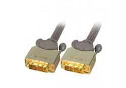 GOLD DVI-D Single Link Cable, M/M, 25m