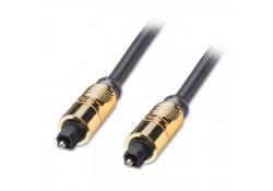 GOLD TosLink SPDIF Digital Optical Cable, 1m