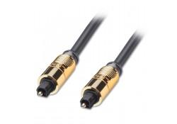 1m Gold TosLink SPDIF Digital Optical Cable