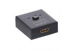 2 Port HDMI 4K Bi-Directional Switch