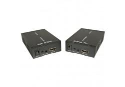 HDMI over Gigabit Ethernet IP Extender, 1080p