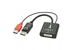 DVI-D to DisplayPort UHD 4K Converter