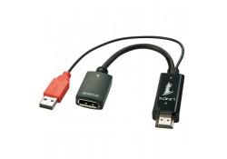 HDMI 1.4 to DisplayPort 1.1 Converter, USB Power