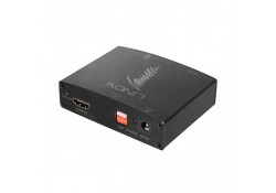 HDMI 4K Audio Extractor with HDMI Bypass