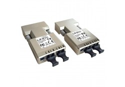 Fibre Optic DVI-D Single Link Extender, 500m