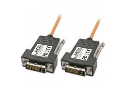 30m DVI-D Single Link Fibre Optic Hybrid Cable