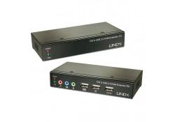 CAT5e/6 KVM Extender DVI-D, USB & Audio