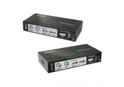 300m CAT5/6 KVM Extender Combo, USB & VGA