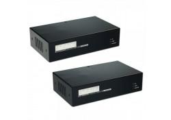 Fibre Optic KVM Extender Dual Head DVI, USB & PS/2