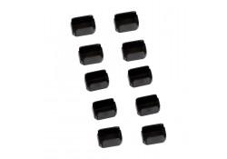 Mini-DisplayPort/Thunderbolt Port Blocker, 10-pack