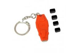 Mini DP / Thunderbolt Port Blocker, 4-pack + Key