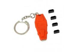 USB Type C Port Blocker, 4-pack + Key