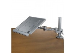 Desktop Notebook Arm, Silver