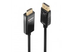 0.5m Active DisplayPort to HDMI Cable with HDR