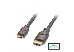 0.5m Premium HDMI to Mini HDMI Cable, Anthra
