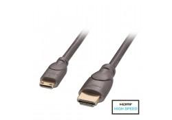 1m Premium HDMI to Mini HDMI Cable, Anthra