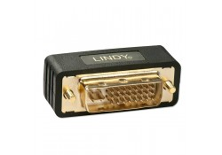 Premium DVI-I Coupler, Male to Female