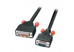 DVI-I to VGA Cable, M/M, 3m