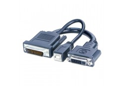 0.2m DVI & USB to P&D (M1-DA, EVC) Adapter Cable