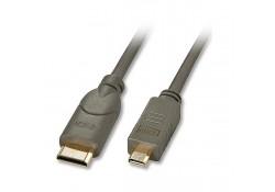 Premium Micro HDMI to Mini HDMI Cable, 0.5m