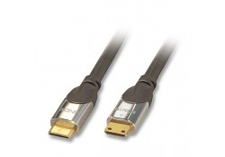 CROMO Mini HDMI with Ethernet Cable, 1m