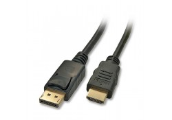 1m DisplayPort to HDMI Cable