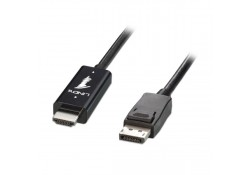 HDMI to DisplayPort Cable, M/M, 5m