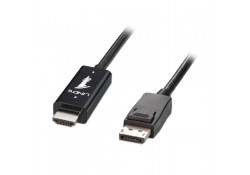 5m HDMI to DisplayPort Cable, Black
