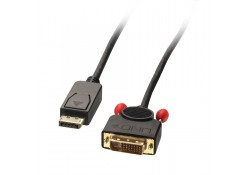 2m Passive DisplayPort to DVI-D Cable, Black