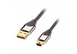 CROMO USB 2.0 Cable, Type A to Mini-B, 0.5m