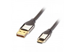 CROMO USB 2.0 Cable, Type A to Micro-B, 0.5m