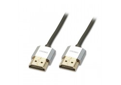 0.5m CROMO Slim HDMI with Ethernet Cable