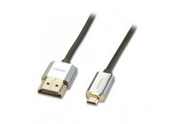 0.5m CROMO Slim HDMI to Micro HDMI Cable
