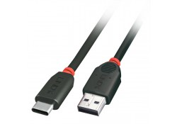 USB 2.0 Cable, Type C to A, 0.5m