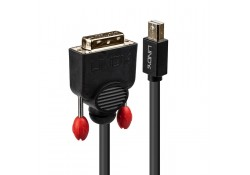 5m Mini DisplayPort to DVI-D Cable, Black