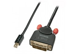 2m Mini DisplayPort to DVI-D Cable, Black