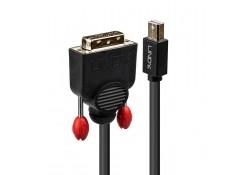 0.5m Mini DisplayPort to DVI-D Cable, Black