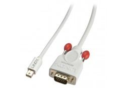 Mini DisplayPort to VGA Cable, Passive, White, 1m
