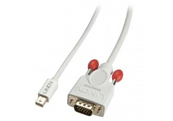 Mini DisplayPort to VGA Cable, Passive, White, 2m