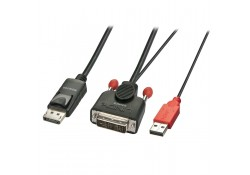 0.5m DVI-D (with USB) to DP Active Adapter Cable