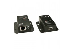 CAT5e/6 USB 2.0 Extender, Power Over CAT5/6, 50m