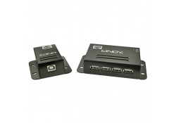 CAT5e/6 USB 2.0 Extender with 4 Port Hub, 50m